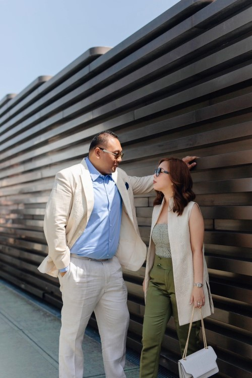 Nikki Chan-Ongkingco and Franco Ongkingco